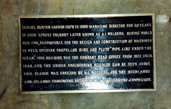 AI Welders Plaque