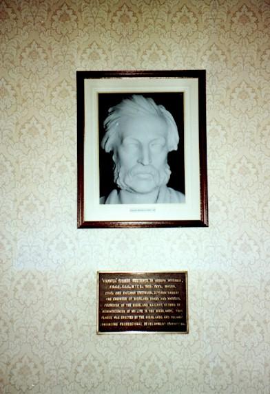 Joseph Mitchell Plaque